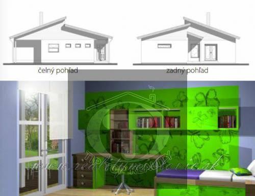 Ponuka - Na predaj - Nízkoenergetický dom OE M3 obr3
