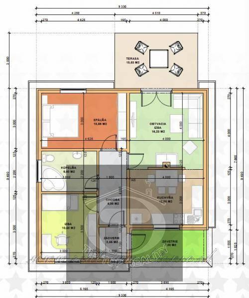 Ponuka - Na predaj - Nízkoenergetický dom OO M3 obr4